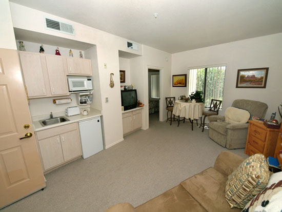 Assisted-Living-Apartment-Living-Room-Sun-City-West-Az