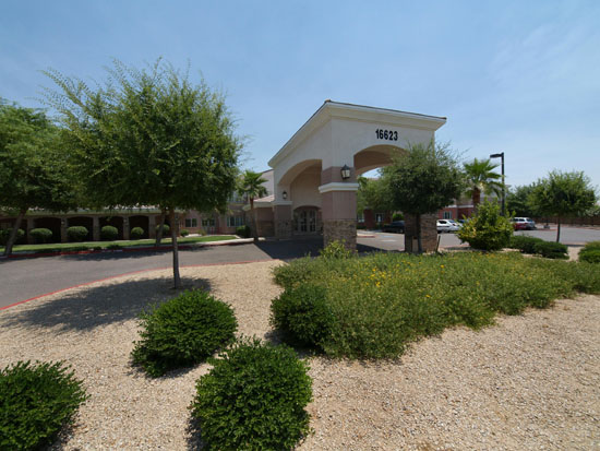 Assisted Living Exterior Of Property Sun City West Arizona