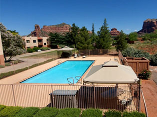 Pool Area Sedona Winds Near Sun City West AZ