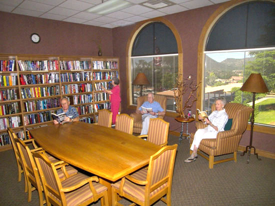 Sedona Winds Independent Living Library