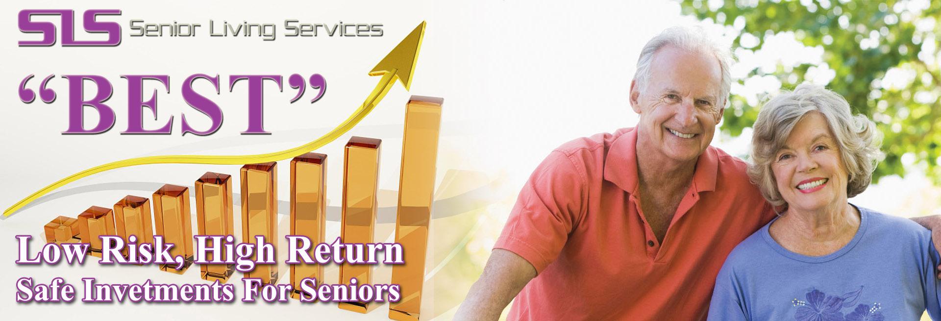 Best Low Risk, High Return, Safe Investments For Seniors