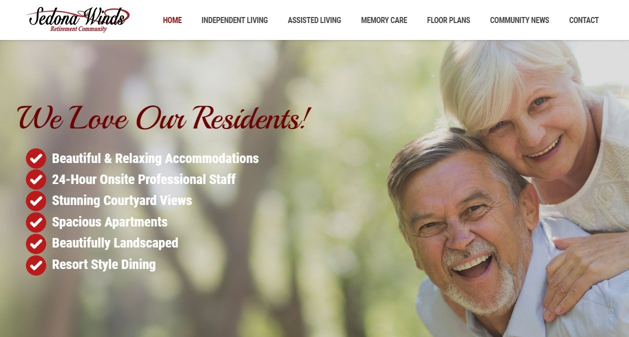 Sedona Arizona Retirement Community - Sedona Winds