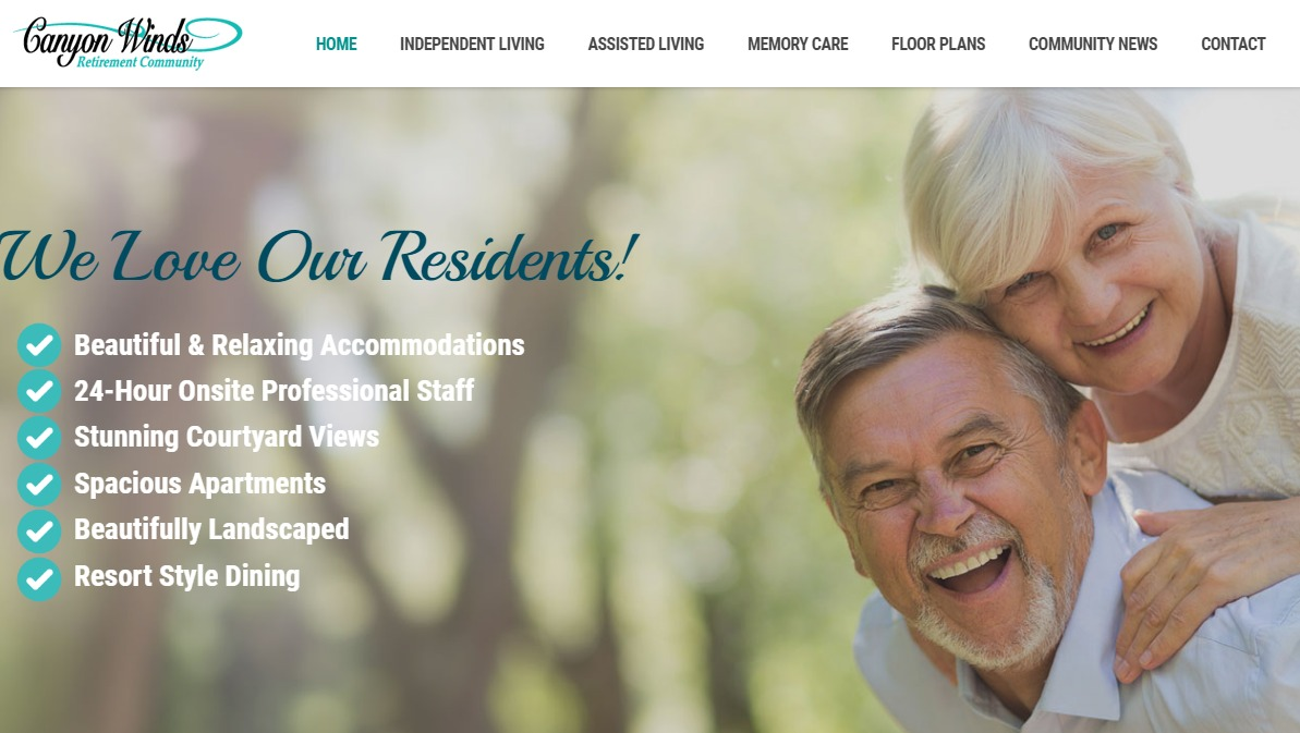 Canyon Winds Retirement Community Mesa Arizona