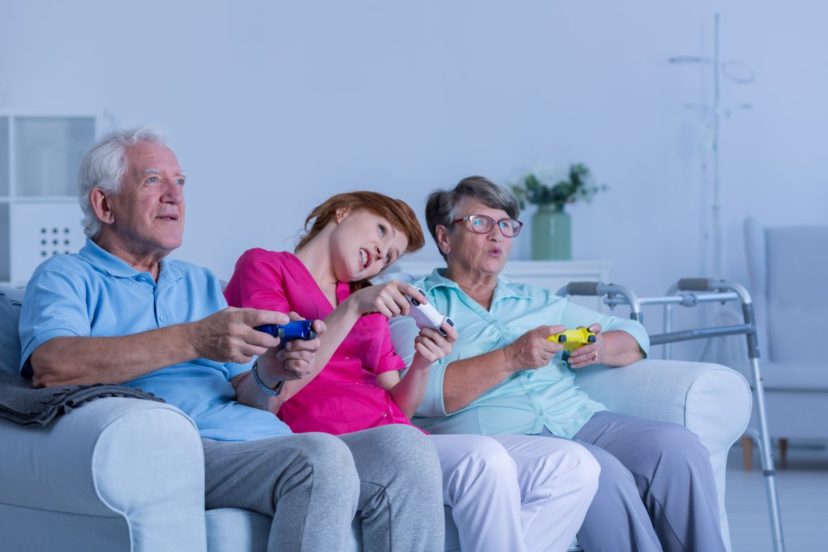 Video Games Seniors Like