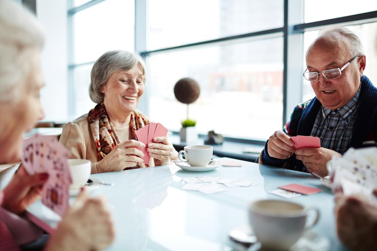 12 Card Games For Senior Citizens